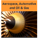 Aerospace, Automotive and Oil and Gas